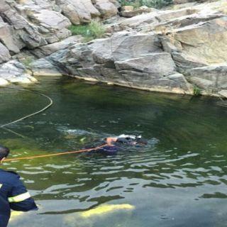 وفاة شاب غرقاً في تجمع مياه اثناء التنزه بـ #عسير