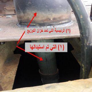 مُطالبات أهالي قُرى وادي بقرة انخفاض ضخ شبكة المياة والسبب الشركة المتعهدة