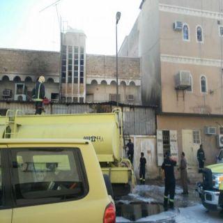 هلال #الرياض 4 وفيات وإصابتين في حريق عمارة سكنية بحي منفوحة
