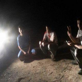 أهالي قُرى #ربيعة بمحافظة #بارق شاهد كيف قضوا ليلتهم دون #كهرباء