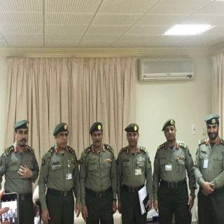 بالصور -اللواء اليحيى يقف على جاهزية #جوازات منفذ جديدة #عرعر