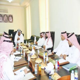 مجلس بلدي #بارق يناقش مستقبل المحافظة ويلتقي المواطنين
