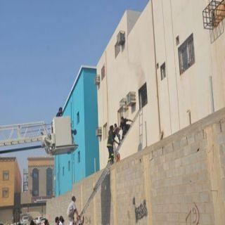 في #تبوك وفاة ثلاثة توائم وإصابة اربعة في حريق شقة سكنية