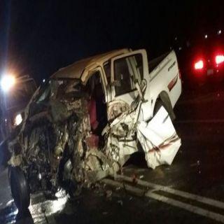 حادث طريق #ثربان يُخلف وفاة وإصابات إحداها بليغة