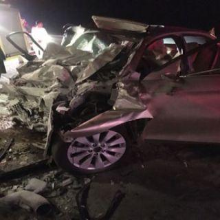 حادث تصادم بوادي القاع بـ #عسير يُخلف أربع وفيات وإصابتين
