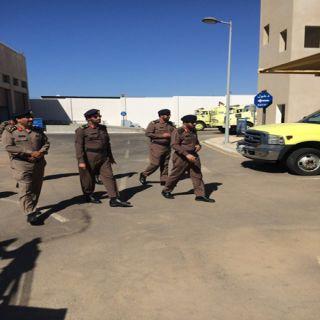 مُدير مدني #تبوك يقف على جاهزية إدارات الدفاع المدني بمُحافظة ضبا