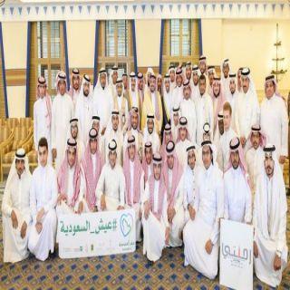 أمير #القصيم يلتقي بطلاب جامعة طيبة الذين يزورون المنطقة حالياً ضمن برنامج (عيش السعودية)