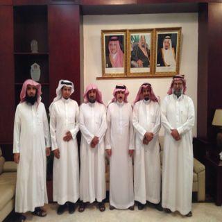 مُحافظ #البكيرية يستقبل أعضاء جمعية بنون