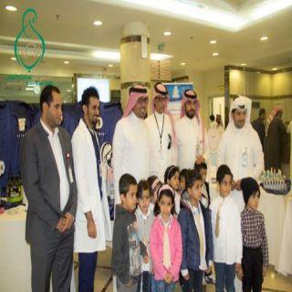 مستشفى #ابها للولادة والأطفال يقيم عيادة للكشف على الزوار والمراجعين