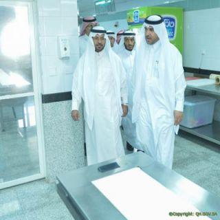 """""""الخمعلي"""" في زيارته لمستشفى #البكيرية صحة القصيم أطلقت برامج علاجية لتوفير اطباء اسشاريين في عدة تخصصات طبية"""