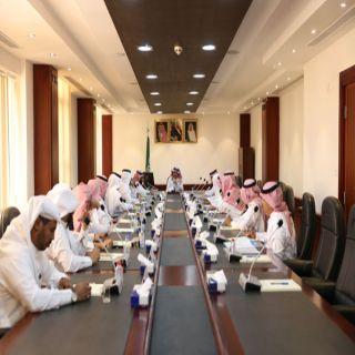محافظ #البكيرية يرأس اجتماع المجلس المحلي