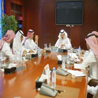 وكيل #جامعة_الإمام يرأس اجتماع اللجنة التحضيرية للمؤتمر العالمي الأول