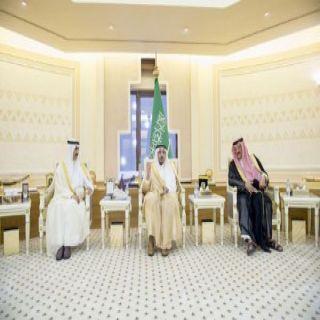 أمير #القصيم يستقبل سفيري# الكويت و #البحرين لدى المملكة