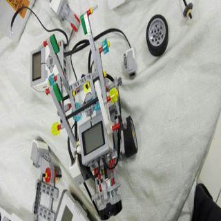 ورشة تدريبية لبرنامج الروبوت بإدارة نشاط الطالبات بـ #تعليم_المدينة