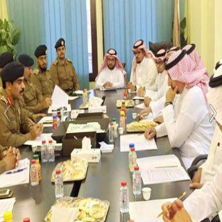 إجتماع مُشترك يجمع بين مُدير مدني #عسير وأمين أمانة المنطقة لمناقشة المحاور المُشتركة