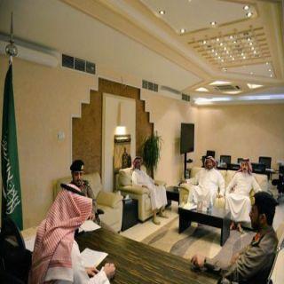 لقاء مُشترك يجمع بين أمانة القصيم والشرطة لمُناقشة الضوابط الأمنية بالمحلات التجارية