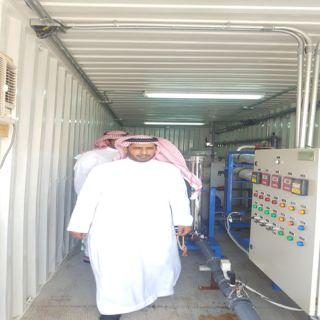 مدير عام المياه بالمنطقة الشرقية يتفقد مشاريع المياه بمحافظة #الجبيل