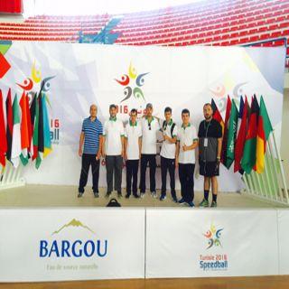 خيرية ذوي الإعاقة بـ #الرس تمثل المملكة دولياً في بطولة تونس