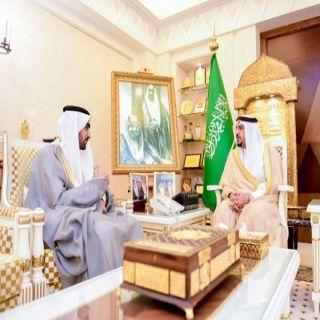 أمير منطقة #القصيم يستقبل مدير مكتب وكالة الأنباء السعودية بالمنطقة