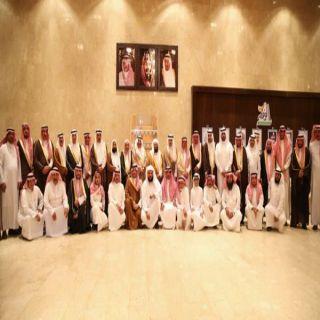 لجنة أهالي #البكيرية تعقد اجتماعها السنوي وتحتفي بمحافظها