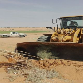 أمانة #القصيم تُزيل نصف مليون متر تعديات جنوب غرب #بريدة
