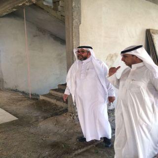 مُدير عام بريد #الباحة يقف على مراحل مشروع بريد #المخواة