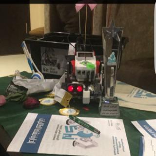 المركز الثاني لـ #تعليم_عسير كأفضل فريق متعاون في تصفيات الروبوت