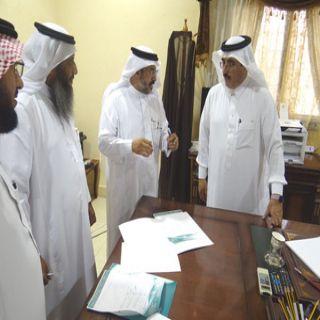 مُحافظ #بارق يرعى توقيع شراكة مجتمعية بين جمعية البر والتعليم