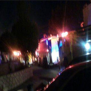 مدني جازان يباشر الآن حادث حريق في مستشفى العارضة العام.
