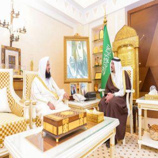 أمير #القصيم يلتقي رئيس المحكمة الجزئية ببريدة