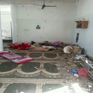 بالصور ميليشيات #الحوثي تمتهن وتُدمر المساجد في تعز