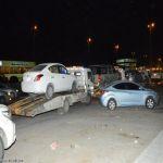 حجز 72 مركبة مخالفة على طريق خريص