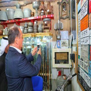 السفير البريطاني يزور المعالم التاريخية والسياحية بـ #القصيم