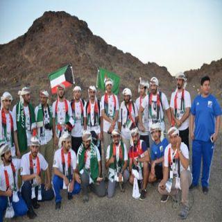 فريق هايكنج السعودية يشارك في احتفالات الامارات الشقيقة باليوم الوطني 45