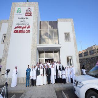 وزير #الصحة يتفقد الطب المنزلي ومستودعات خزن الدواء وابها للولادة والخميس العام