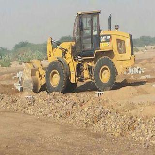 بلدية جنوب جدة تستعيدة أراضٍ حكومية تزيد مساحتها عن خمسة ملايين متر مربع.