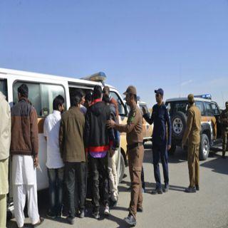 ضبط 40 مُخالفاً وآخر في قضية جنائية في حملة أمنية بمدينة #بريدة