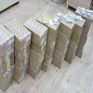 تحريات #القصيم تطيح بوافد عربي متهم بسرقة (35) ألف بطاقة اتصال