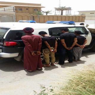 دوريات أمن الرياض توقع بـ7 من الجنسية اليمنية أمتهنوا سلب العمالة الوافدة