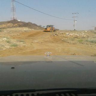 بالصور -بلدية #بارق تواصل أعمالها الميدانيه بجمعة ربيعه .