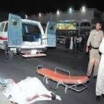 """""""تبوك"""" حادث دهس طالب أثر عبورة طريق الملك فهد"""