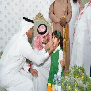 محافظ #محايل يدشن حملة التطعيم ضد شلل الأطفال
