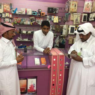 الاطاحه ب7 وافدين مخالفين لنظام العمل والاقامه بمحافظة #العقيق