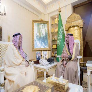 أمير منطقة القصيم يستقبل محافظ الهيئة العامة للمنشآت الصغيرة والمتوسطة