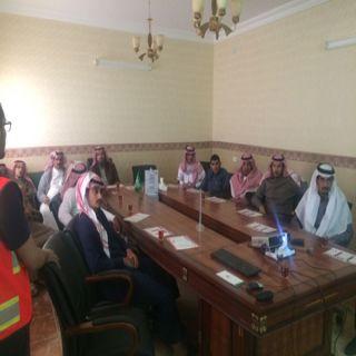 بمركز المعلومات الوطني هلال #الباحة يُقيم محاضرة توعوية عن الإسعافات الأولية