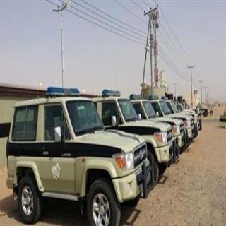 دوريات المجاهدين في #جازان تحبط تهريب طلقات حيّة وتقبض على متسللين