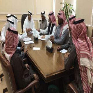 أمين الشرقية يستقبل رئيس بلدية النعيرية وأعضاء المجلس البلدي للمحافظة