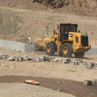 أمانة #جدة تستعيد مائة وخمسين الف متر مربع بحي السنابل وتُزيل تعديات على اراضي حكومية