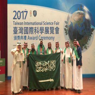 #تعليم_عسير الرابع عالمياً في معرض تايوان الدولي للعلوم