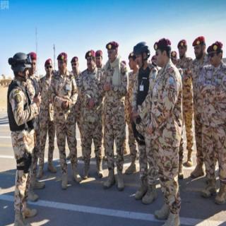 قوات الأمن تُجري التمرين التعبوي المُشترك الثاني وطن (87)